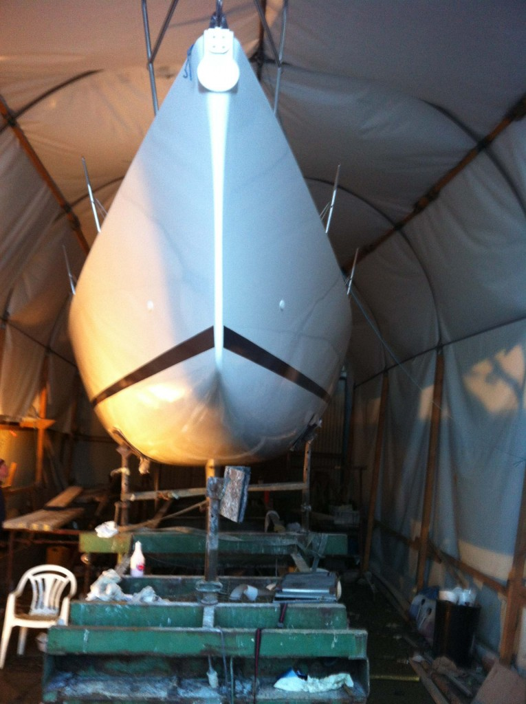 Sailing yacht survey - Prolines Naval Architects