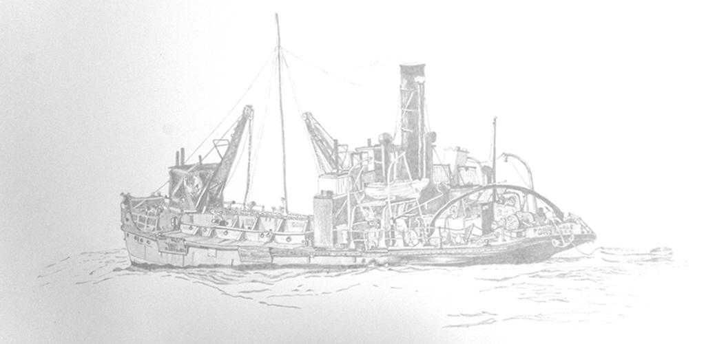 sketch-boat